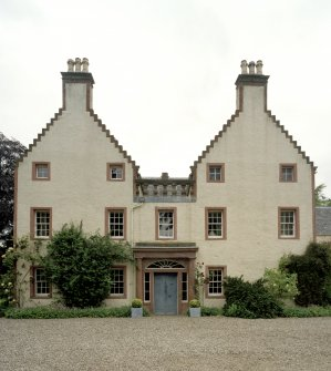 Original House. View from SE showing entrance