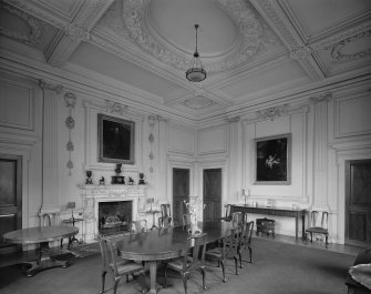 Interior. First Floor. Dining Room.