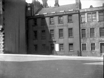 General view of former Dental Hospital and School in Brown Square, Chambers Street -now demolished.