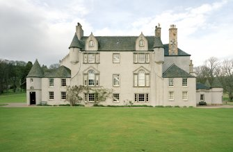Leith Hall, exterior.  View from South