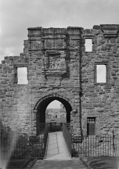 St Andrews Castle; Later entrance.