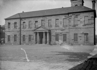 General view of entrance front of old Surgical Hospital