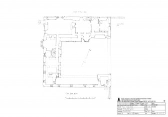 Craig House, Angus: Second floor plan