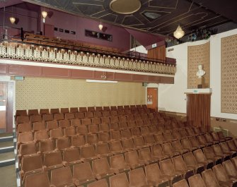 Interior. Auditorium, view from north west