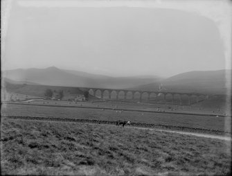 View of Shankend railway viaduct from NE