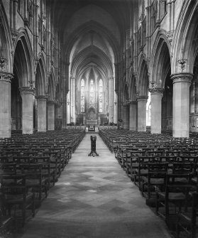 Edinburgh, Palmerston Place, St. Mary's Episcopal Cathedral. Nave.