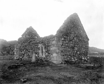 Iona, St Oran's Chapel. View from South-East.