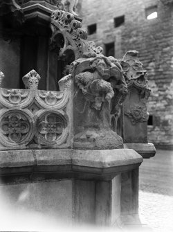Detail of fountain.