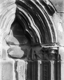 Detail of blind arch.