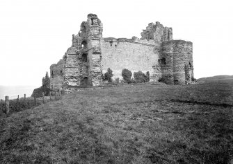 View of fore-tower from W.