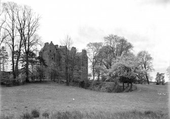 Elcho Castle. General view from North-East.