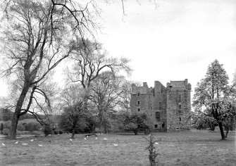Elcho Castle. General view from East.