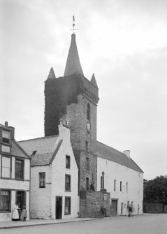 View of the Tolbooth, Kirkcudbright, from north.