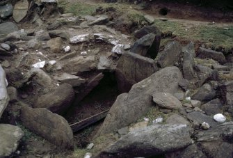 Detail of excavations.
