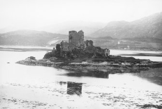 Eilean Donan Castle. View from South-East.
