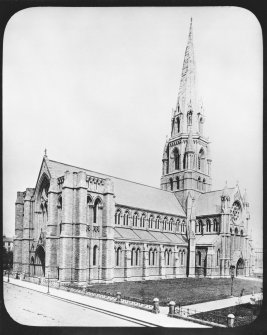 Edinburgh, Palmerston Place, St. Mary's Episcopal Cathedral. Photograph before addition of towers.