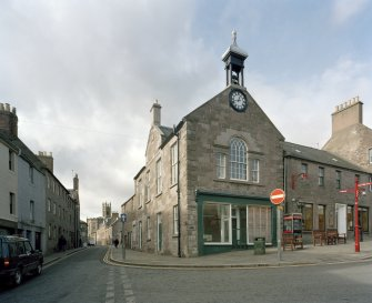 General view of Brechin Town Hall from E.