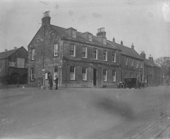 View of the Royal Hotel, Penicuik, from SW.