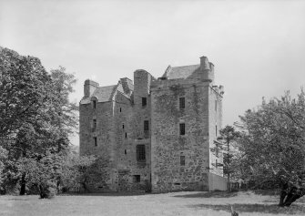 Elcho Castle. General view from West.