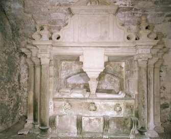 "Interior, view of ""glorious tomb"""
