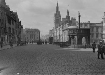 Aberdeen, Castle Street, General. General view from North-East.