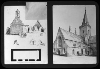 photographic copy of drawing.