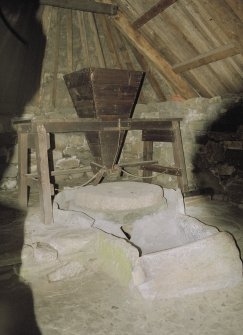 Detail of South Shawbost Mill interior.