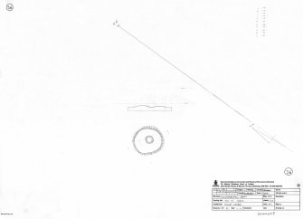 400 dpi scan of DC44509 RCAHMS plan of ring cairn