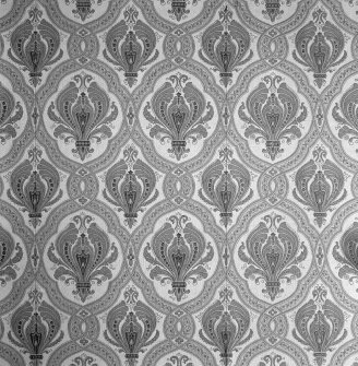 Interior. 1st floor, W Princes room, detail of wallpaper