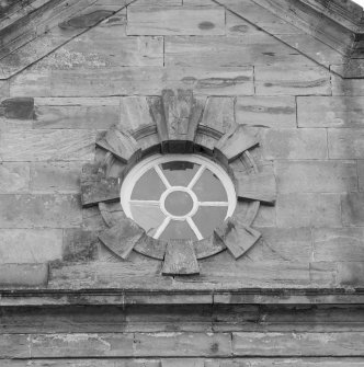 Detail of round window