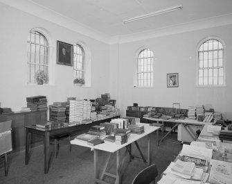 Interior. Committee room/Library View from S