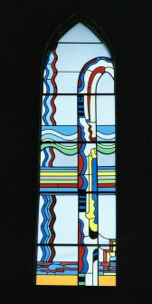 Detail of Paolozzi window.