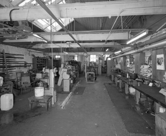 Interior, view of machine shop