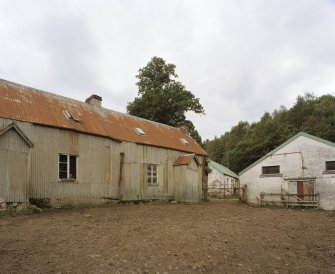 General View of former farm house and sheds from South West