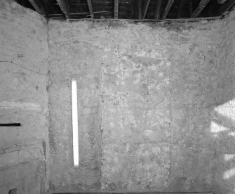 Interior. Room FF-17 View of North wall
