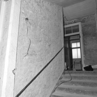 Interior. View of West staircase
