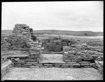Excavation photograph. View of chapel.