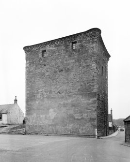 Barr Castle, Galston. General view from N.