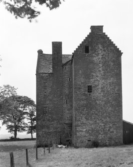 Braikie Castle. View from NE.