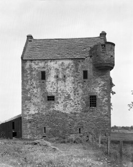 Braikie Castle. View from SW.