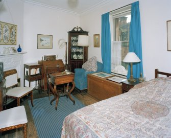 First floor, South East bedroom, view from North West