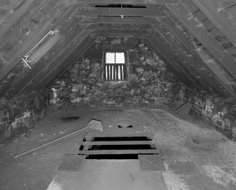 View of interior of kiln from South West.