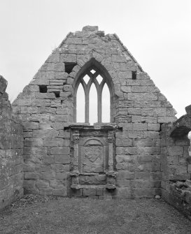 Fearn Abbey.  Ross aisle, view of interior from South.