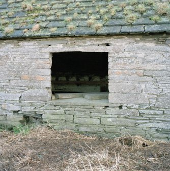 Stable, (former steading), detail of window.
