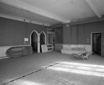 View of ground floor South West room from South West