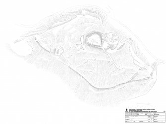 Survey drawing, Castle Craig