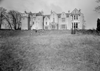 View of Westhall House from SE showing south elevation.