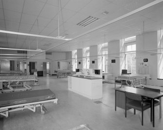 Royal Infirmary, Interior - general view of ward.