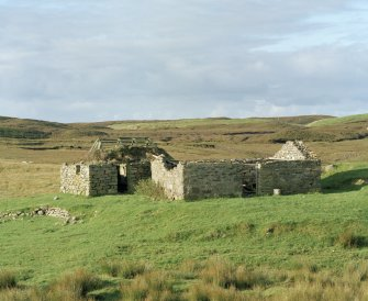 Henhouse and byre, view from N