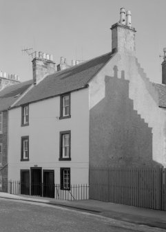 View of Fernbank, High Street, Anstruther Wester, from NW.
